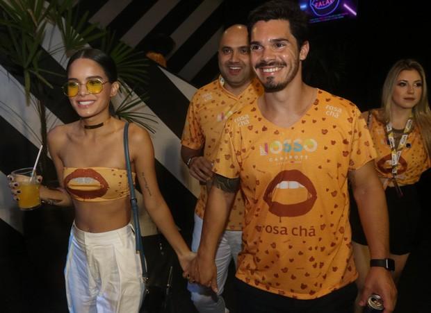 Carol Macedo e Rafael Eboli (Foto: Rogério Fidalgo/AgNews)