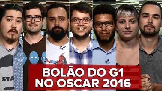 Oscar 2016: Veja como equipe do G1 se saiu no bolão da premiação