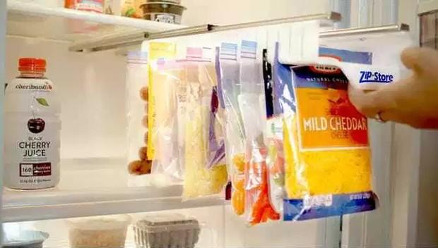 Guarde alimentos em saquinhos para dar lugar ao que realmente precisa de um pote (Foto: Kickstarter/ Reprodução)