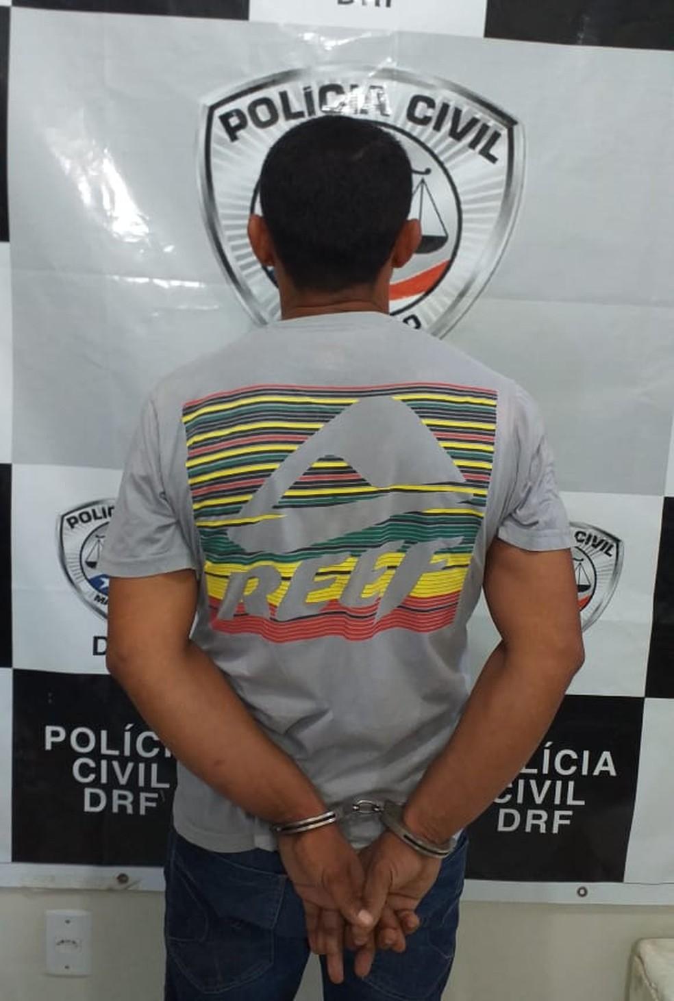 Homem suspeito de estuprar criança de 11 anos no Rio de Janeiro é preso no Maranhão. — Foto: Divulgação/Polícia Civil do Maranhão (PC-MA)