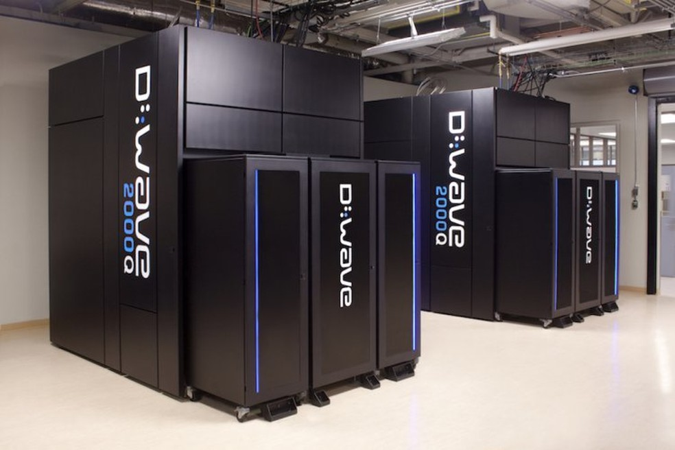 A D-Wave já explora comercialmente a ideia dos computadores quânticos — Foto: Divulgação/D-Wave