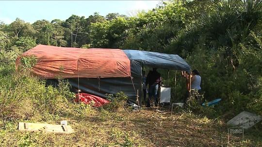 Acampamento do MST sai de Garuva e vai para terreno particular em Araquari