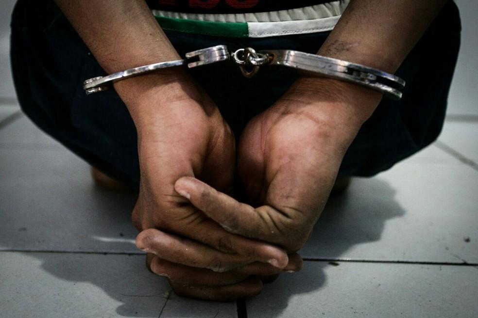 Crime ocorreu no ano de 1998 e suspeito foi preso em 2017 (Foto: Jonathan Lins/G1)