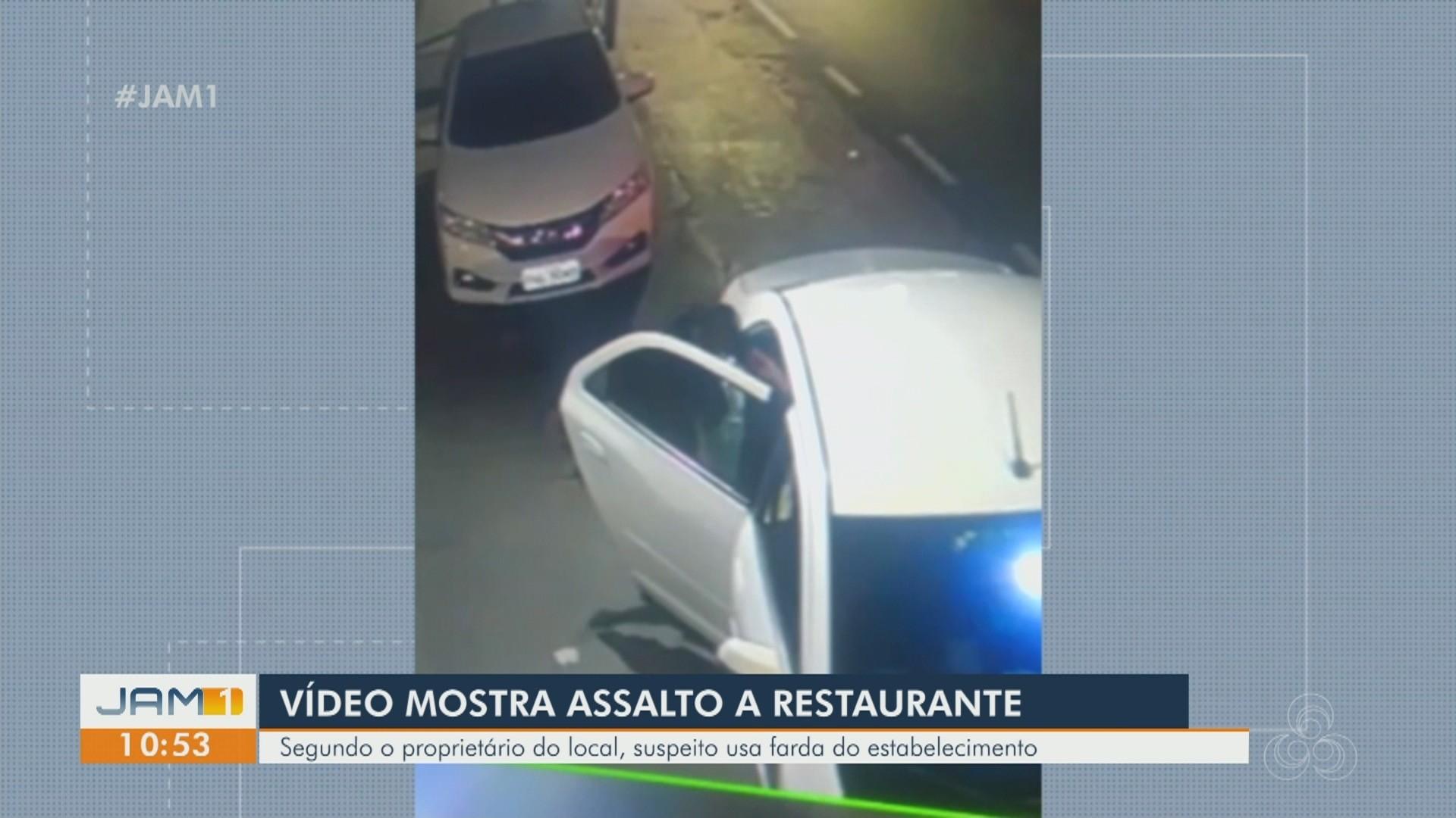 VÍDEO: Posto de combustíveis é assaltado em Itacoatiara, no AM; Veja destaques do JAM