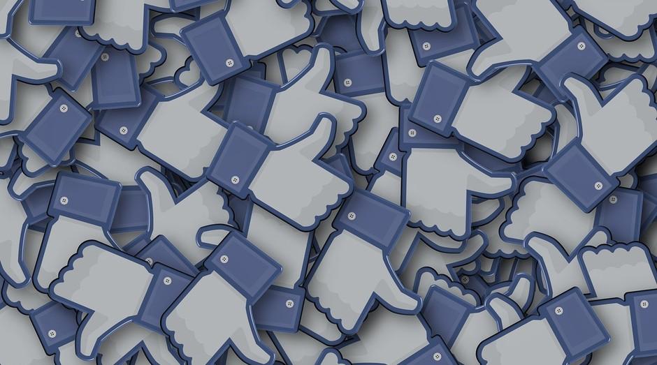 Facebook; curtidas; redes sociais (Foto: Pexels)