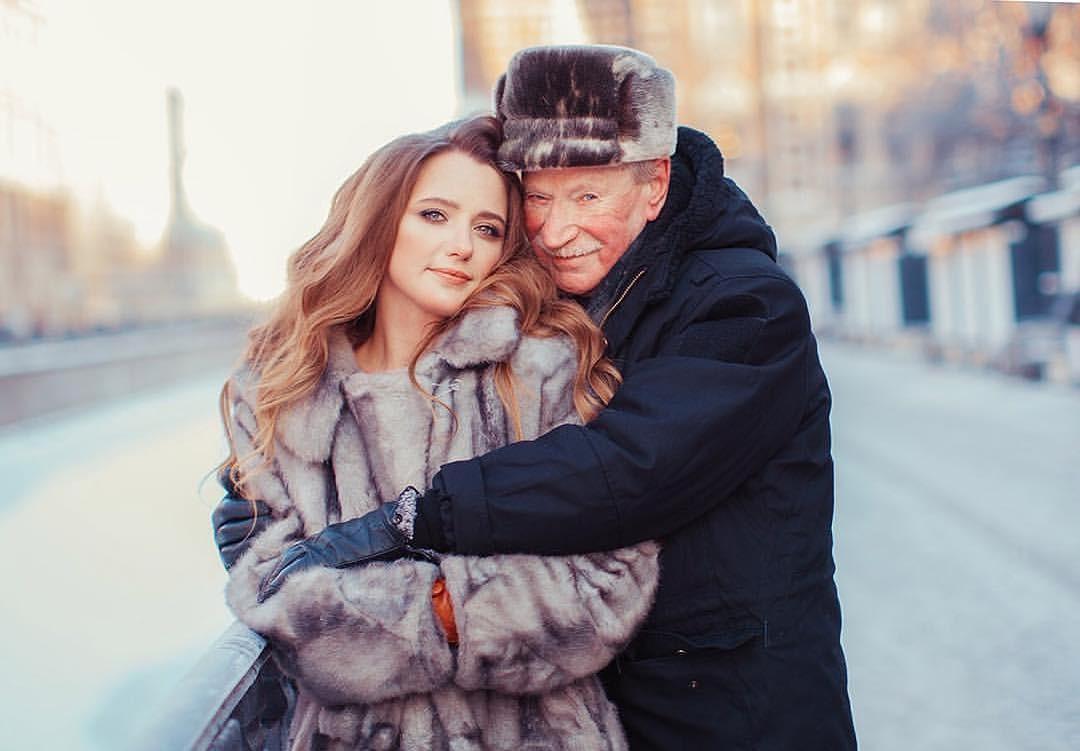 Natalia Krasko e Ivan Krasko em foto tirada enqanto estavam juntos (Foto: Reprodução instagram)