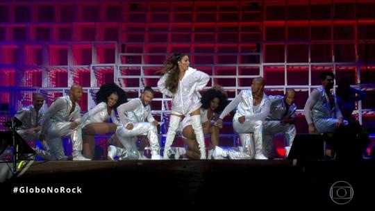 Ivete Sangalo, a 'Beyoncé brasileira', faz quadradinho, canta Lady Gaga e brinca com gravidez no Rock in Rio