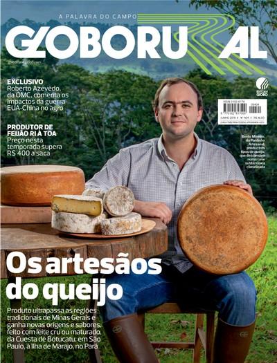 Capa da edição de junho da Revista Globo Rural (Foto: Globo Rural/Ed. Globo)