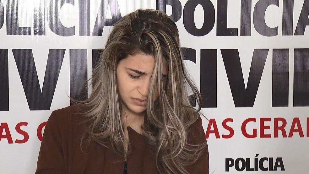 Pastora Juliana Sales Alves, presa por omissão no caso da morte de filhos no Espírito Santo (Foto: Umberto Lemos / InterTV)