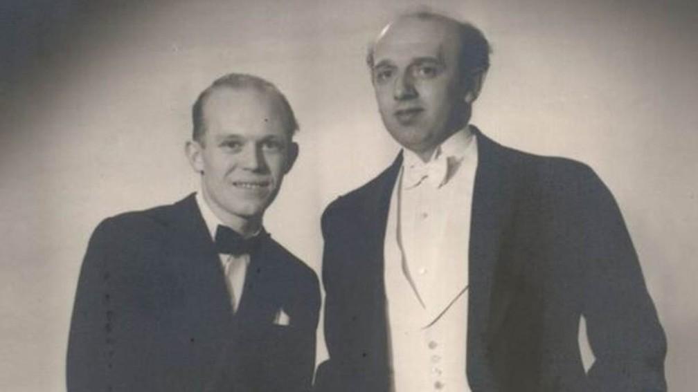 Axel e Eigil Axgil: os pais do moderno movimento gay dinamarquês — Foto: Arquivo pessoal Axel e Eigil Axgil