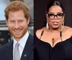 Príncipe Harry e Oprah Winfrey | AFP