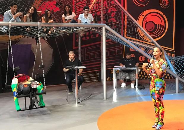 Estreia de Anitta Entrou no Grupo (Foto: Rafael Godinho/Ed.Globo)