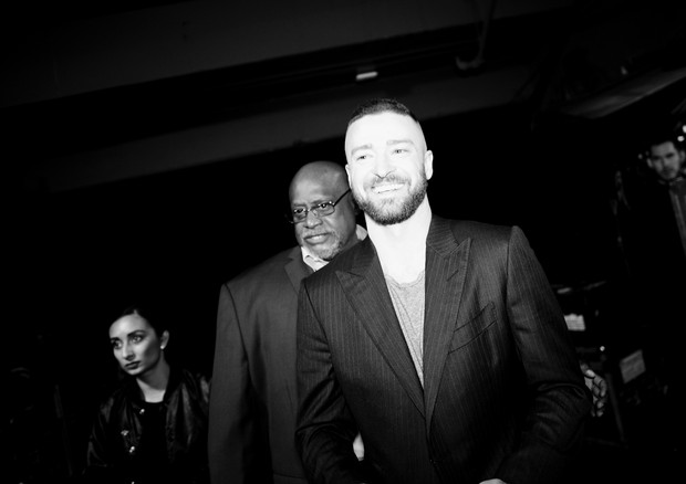 INGLEWOOD, CA - MARCH 05:  (EDITOR'S NOTE:  Image has been shot in black and white.)  Singer Justin Timberlake attends the 2017 iHeartRadio Music Awards which broadcast live on Turner's TBS, TNT, and truTV at The Forum on March 5, 2017 in Inglewood, Calif (Foto: Getty Images for iHeartMedia)