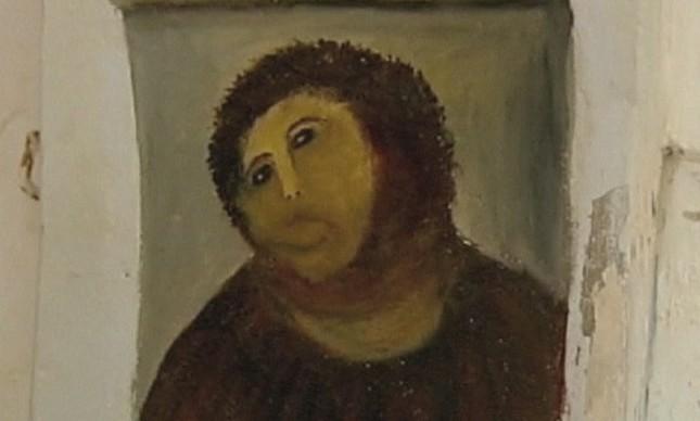 Jesus restaurado por Cecilia Giménez