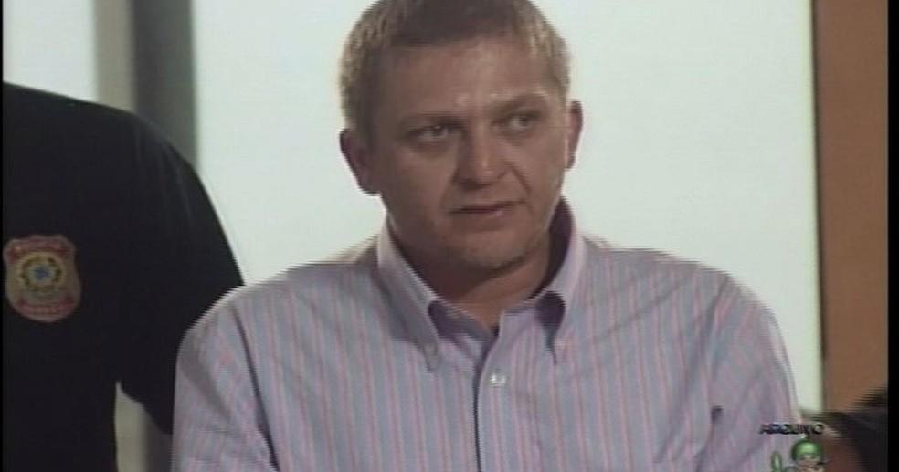 Alemão foi condenado por ser um dos mentores do furto ao Banco Central (Foto: TV Verdes Mares/Reprodução)