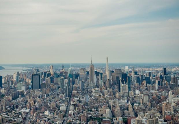 Visão aérea da cidade de Nova York (Foto: Roy Rochlin/Getty Images)