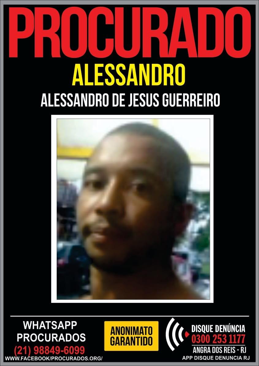 Disque Denúncia divulga cartaz para encontrar principal suspeito de homicídio em Angra dos Reis