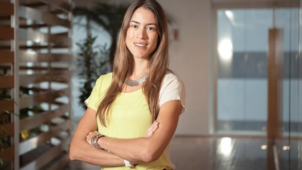 Carla Crippa, diretora de sustentabilidade da Ambev. A água mineral AMA, um projeto social, proporcionou ganhos intangíveis à empresa (Foto: Divulgação)