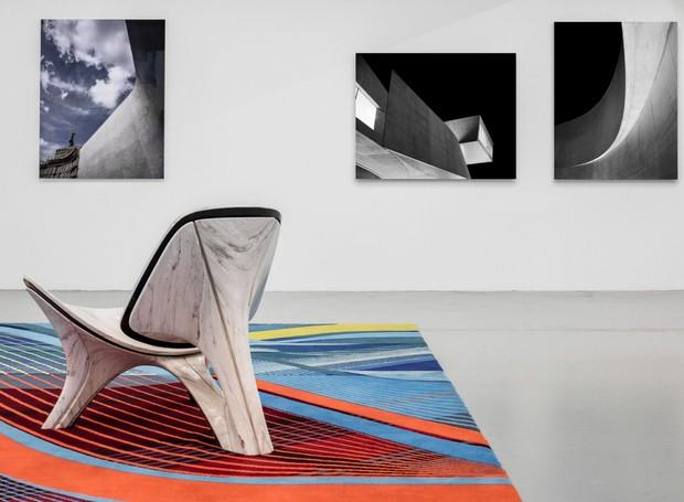 Galeria pop-up Zaha Hadid em Nova York (Foto: Deezen/ Reprodução)