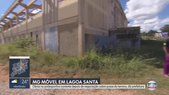 MG Móvel acompanha, pela 6ª vez, situação do Poliesportivo de Lagoa Santa