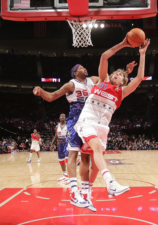 Os tênis do All-Star Game da NBA (Foto: Getty Images)