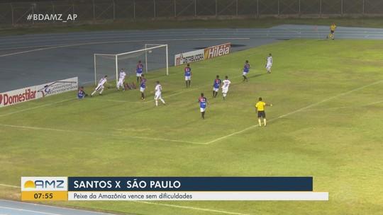 Análise: Santos-AP joga o suficiente e São Paulo-AP sente pressão da estreia