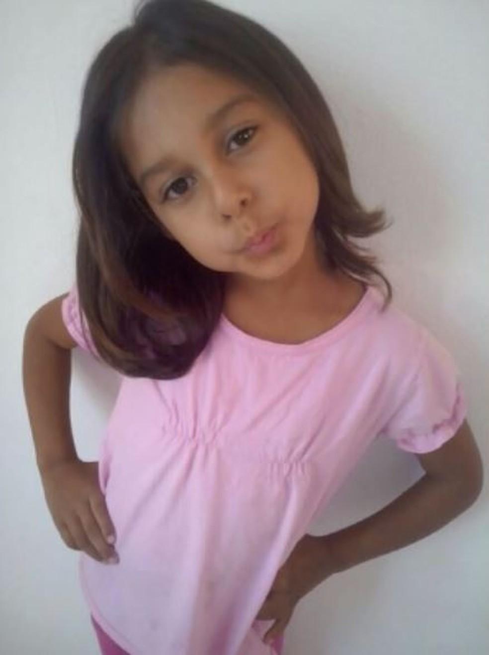 Menina de 6 anos foi assassinada em Conchal (Foto: Reprodução/ EPTV)