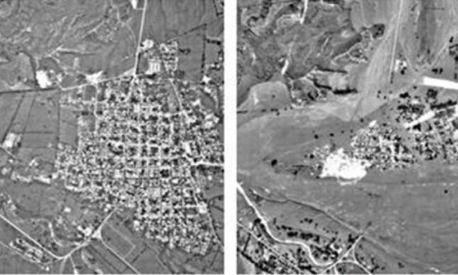 Vulcão: Imagens de satélite mostram Armero antes e depois da tragédia em 1985