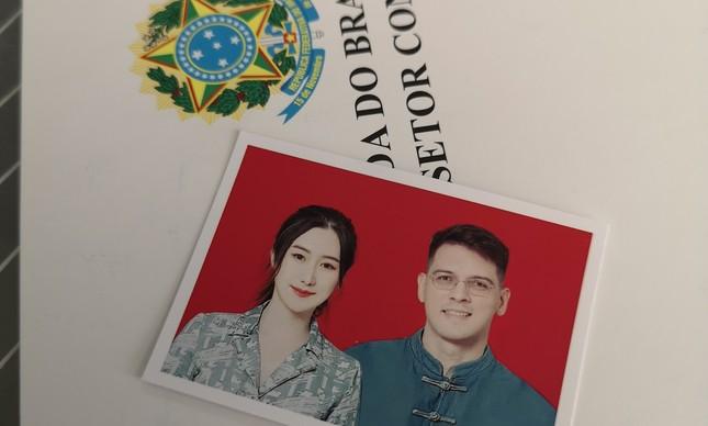 Rosie e Rodrigo: depois do confinamento, o matrimônio