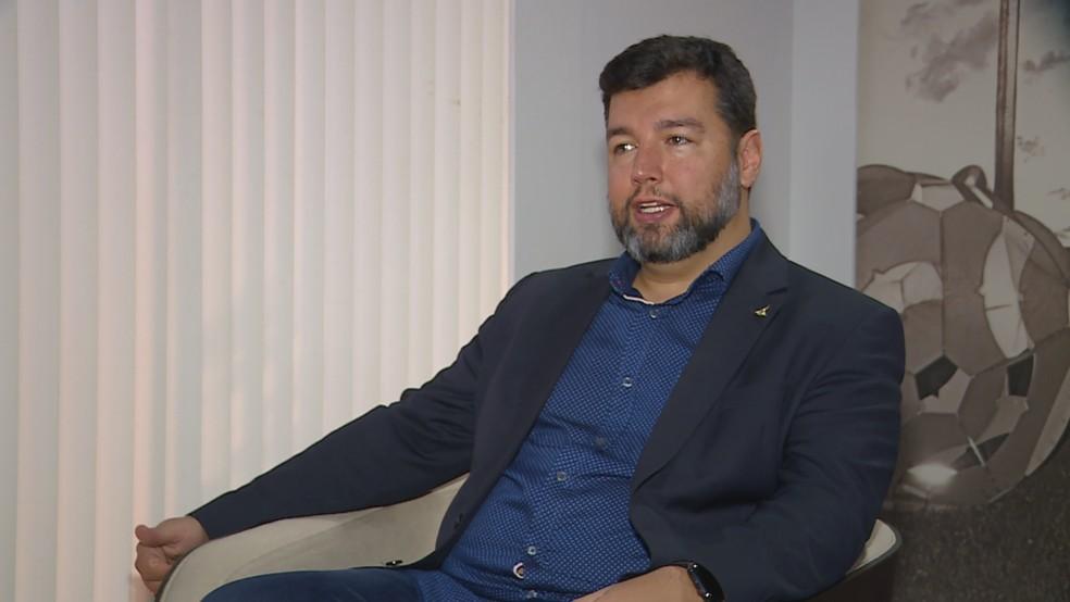 Secretario de Educação do DF, Rafael Parente — Foto: TV Globo