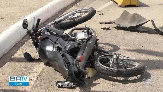 Acidentes de moto correspondem a quase 70% do DPVAT pago; VÍDEO