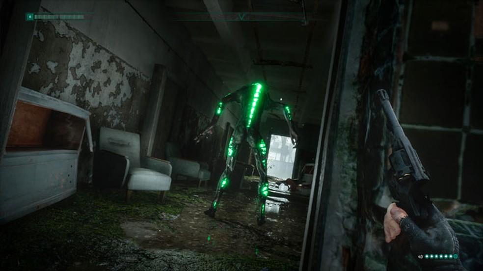 Além de sobreviventes agressivos em Chernobylite, jogadores terão que lidar também com criaturas sobrenaturais misteriosas — Foto: Reprodução/Steam