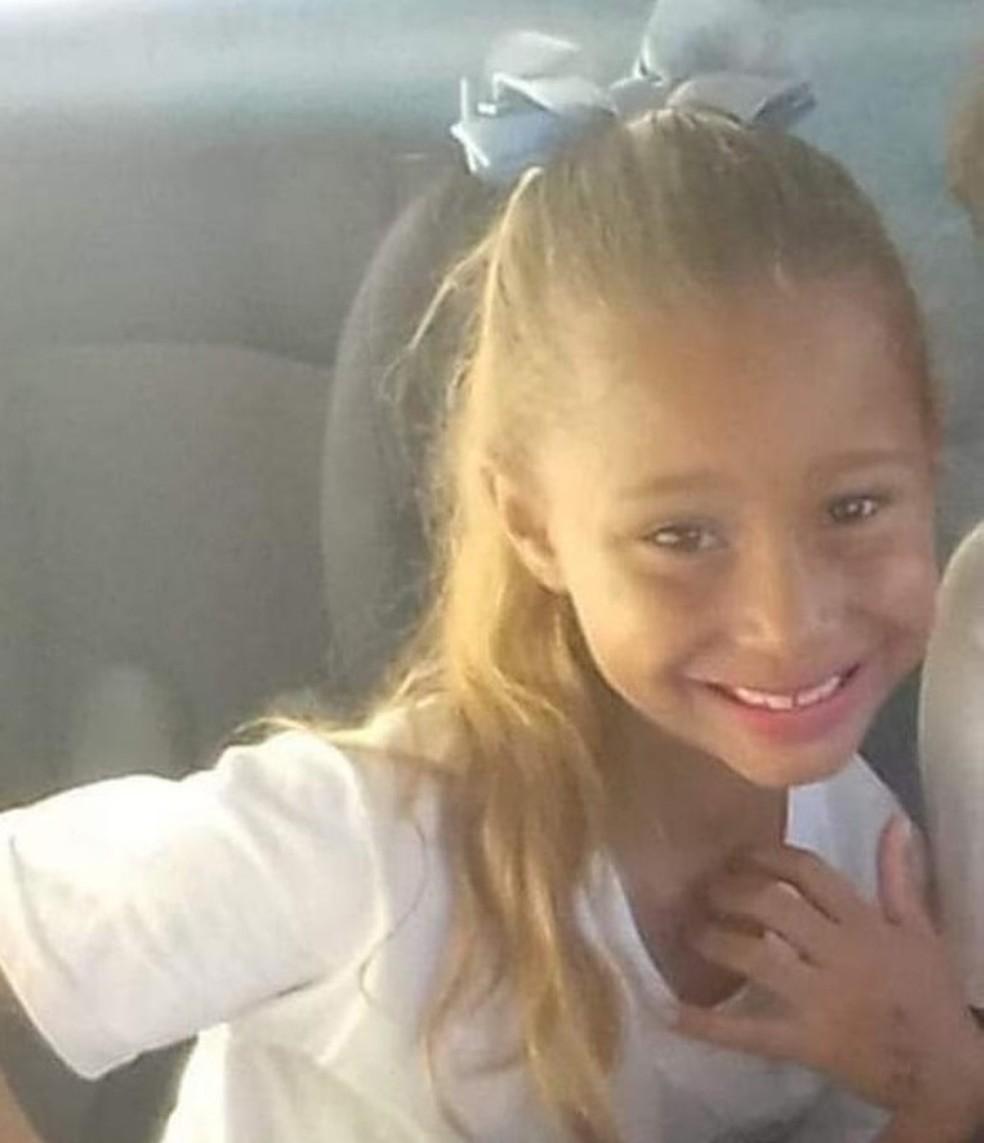 Caso Emanuelle: suspeito de matar menina com mais de 10 facadas tem prisão preventiva decretada — Foto: Reprodução/Facebook