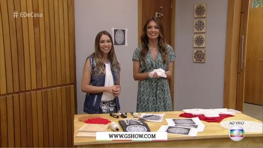Aprenda a fazer decoração de renda em sua casa