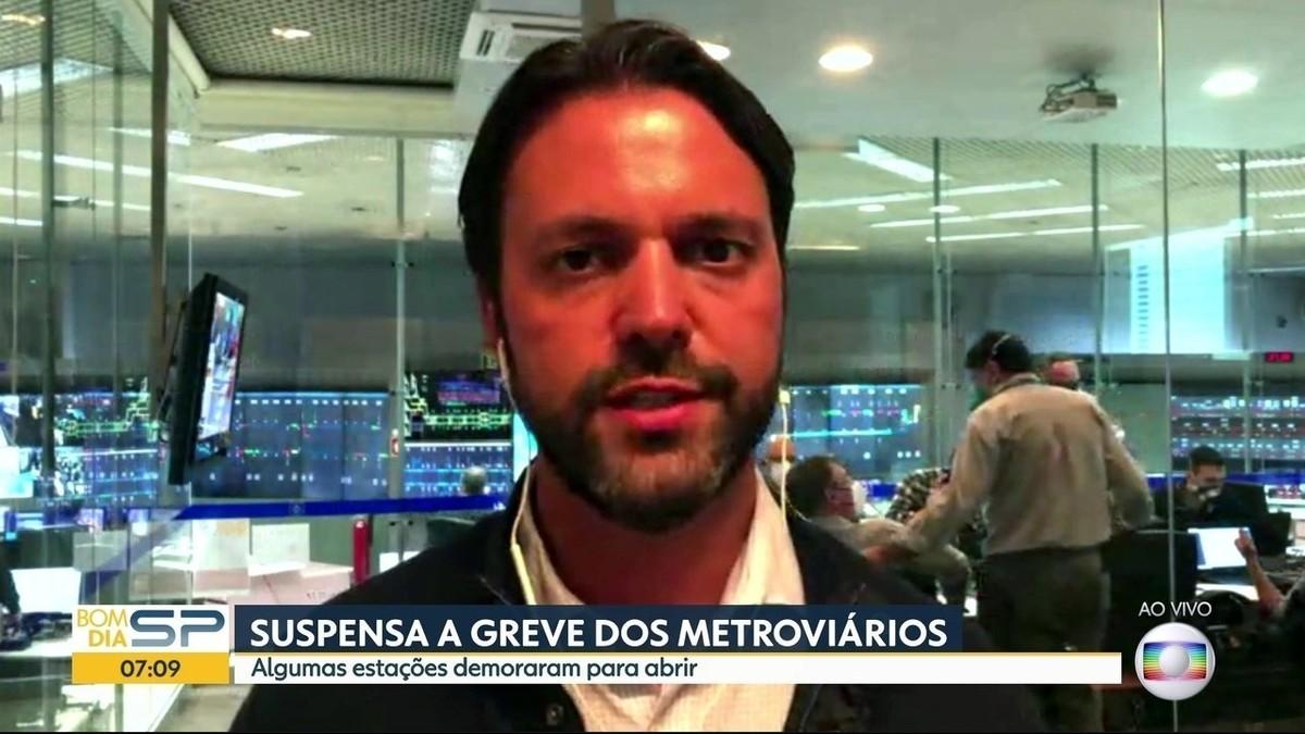 Secretário dos Transportes diz que nunca imaginou greve do Metrô durante pandemia e que falhou em não acionar Paese – G1