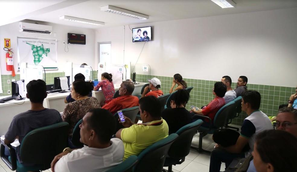Os interessados devem comparecer em uma das unidades do Sine Municipal — Foto: Divulgação