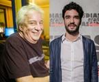 Marco Nanini e Caio Blat | João Miguel Júnior e Raquel Cunha/ TV Globo