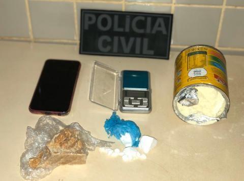 Suspeita de tráfico de drogas é presa com crack e cocaína em Eldorado dos Carajás, no PA