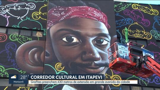 Artes do Corredor Cultural são finalizadas neste sábado (10) em Itapevi