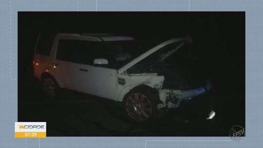 Casal morre e filha fica gravemente ferida em acidente na BR-460