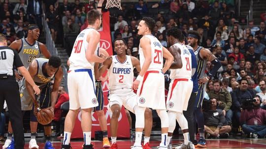 Clippers levam aperto no fim, mas superam Pacers e seguem firme rumo aos playoffs
