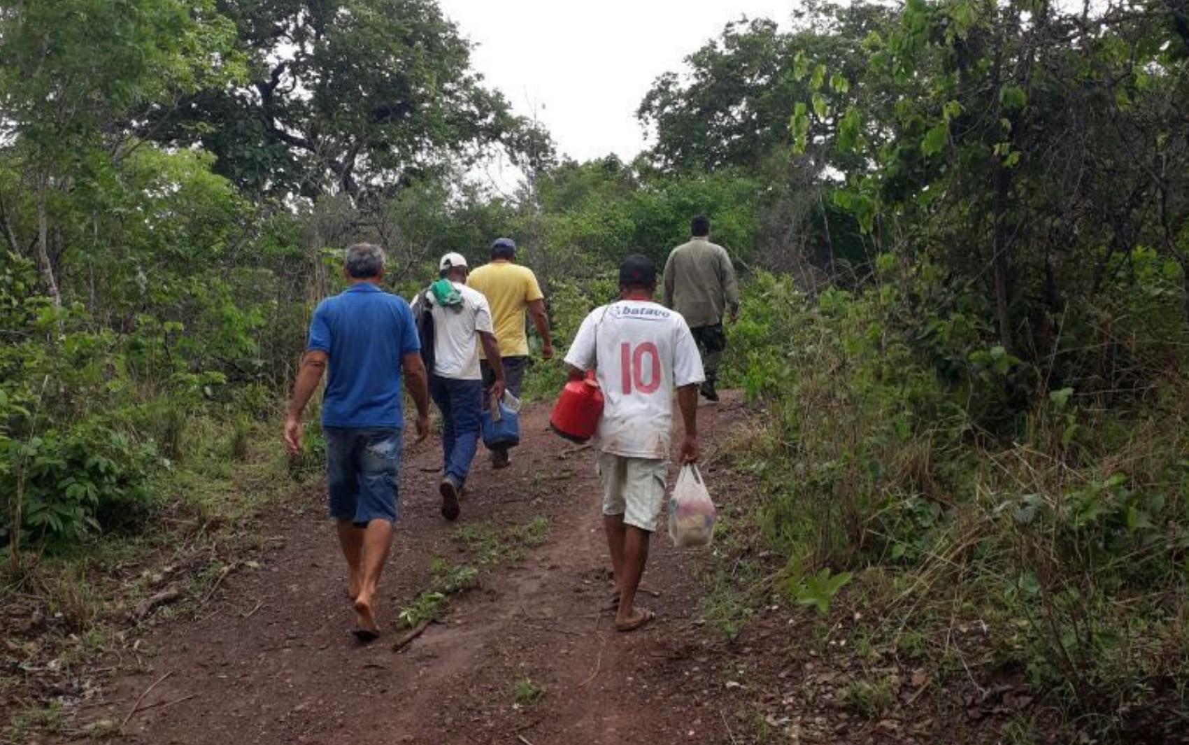 Ação do MP prende 5 em garimpo clandestino de ouro em São Domingos