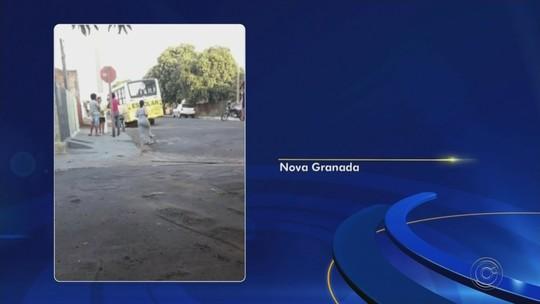 Criança morre atropelada por ônibus em Nova Granada