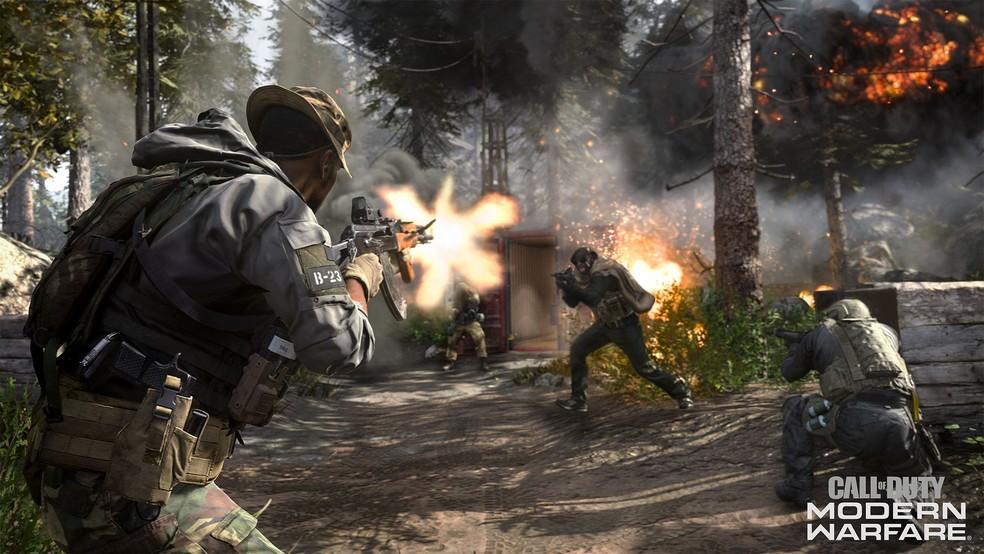 Call Of Duty: Modern Warfare de 2019 traz um novo motor gráfico e revigora a série de tiro que é uma das mais famosas do mercado. — Foto: Divulgação/Activision