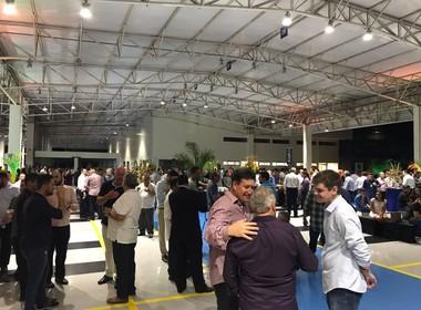 inauguração concessionária Scania em Cuiabá (MT) (Foto: Cassiano Ribeiro / Globo Rural)