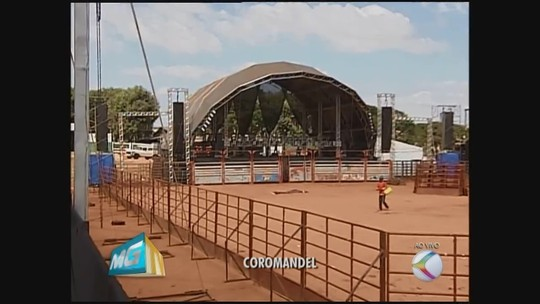Exposição Agropecuária de Coromandel começa nesta quarta com shows, rodeio e mostras regionais