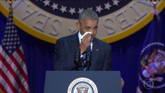 Em despedida, Obama incentiva americanos a participar ativamente da democracia