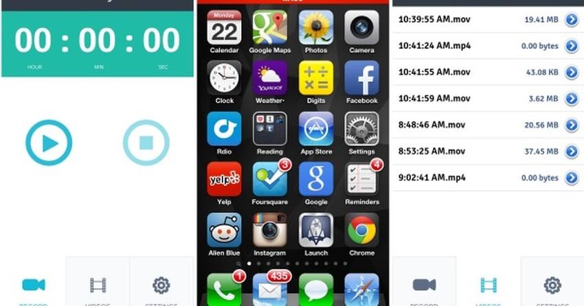 xRec: capture vídeos de apps e jogos na tela do seu iPhone