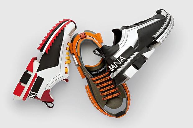 Em três opções de cor, o tênis chamativo  (Foto: divulgação)