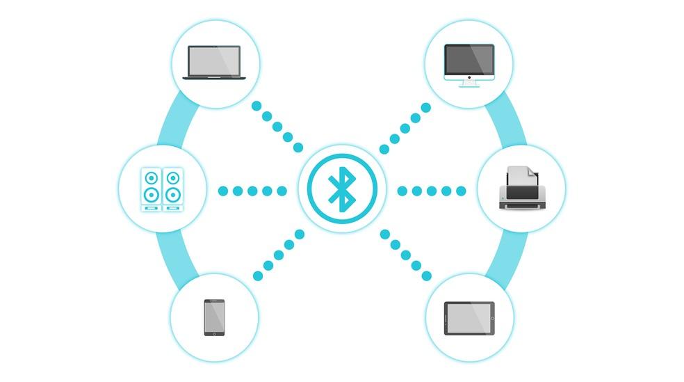 Bluetooth conecta dispositivos usando criptografia, mas falha pode enfraquecer as chaves de segurança e permitir interceptação de dados. — Foto: 200 Degrees/Pixabay